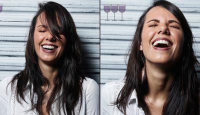 Cum arată o persoană după 1, 2, 3 pahare de vin!