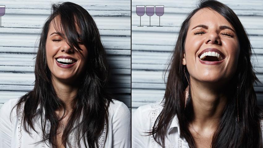 Foto: Cum arată o persoană după 1, 2, 3 pahare de vin!