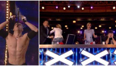 """Un moldovean i-a băgat în sperieți pe jurații de la """"Britain's Got Talent"""""""