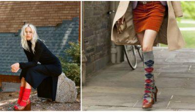 Șosete și sandale. Tu ai purta așa combinație?