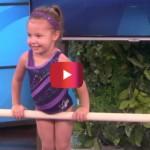 Foto: Au invitat-o pe această fetiţă în emisiune, dar toţi rămân surprinşi când o văd ce poate să facă!
