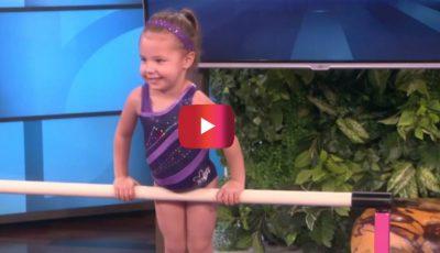 Au invitat-o pe această fetiţă în emisiune, dar toţi rămân surprinşi când o văd ce poate să facă!