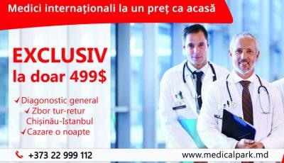 Medici internaţionali la un preţ ca acasă