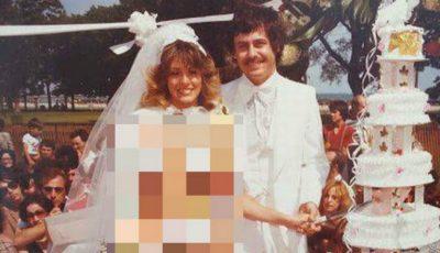 Când a apărut așa la nuntă, preotul a vrut să o dea afară din Biserică