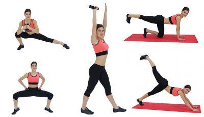 5 exerciții pentru coapse ferme!