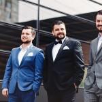 Foto: Fraţii Melnic, îmbrăcaţi la patru ace şi dezbrăcaţi de secrete