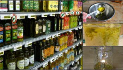 70% din uleiul de măsline vândut în magazine este falsificat! Cum îţi dai seama că eşti înşelat