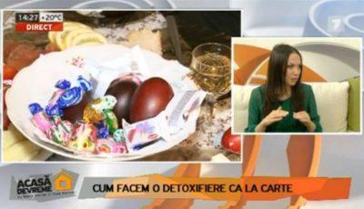 """Galina Tomaş: """"Cum facem o detoxifiere ca la carte"""""""