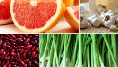 Alimente pentru reducerea încărcăturii toxice din corp!