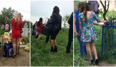 Cât de îndrăzneț s-au îmbrăcat moldovencele de Paștele Blajinilor