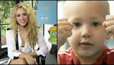 Păpuşa pentru copiii bolnavi de cancer, lansată de Shakira