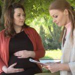 Foto: Fondatoarea grupului Ask a Mom în curând va deveni mămică pentru a doua oară
