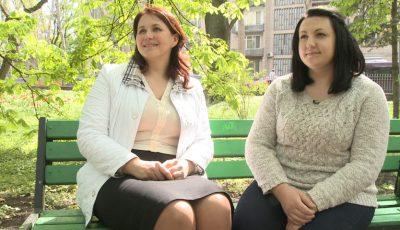 Două surori luptă pentru a câștiga primul loc în competiția Slăbește Sănătos!