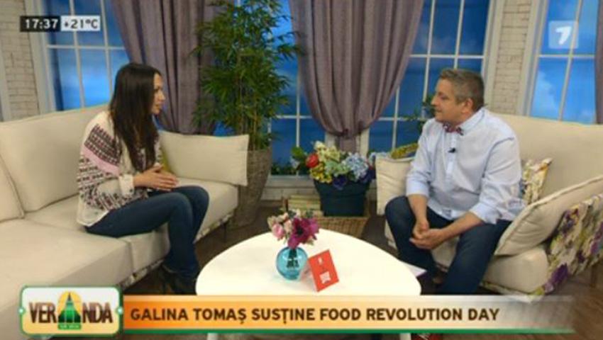 Foto: Galina Tomaș, despre deprinderile alimentare nesănătoase la copii