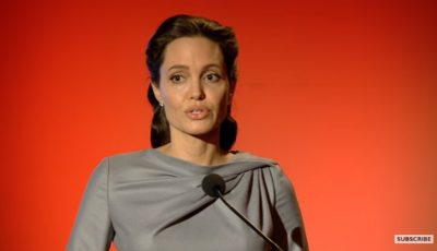 O nouă apariție a Angelinei Jolie. A vorbit despre criza imigranților!