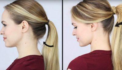 Până acum ți-ai legat părul greșit. Iată cum trebuie să o faci!