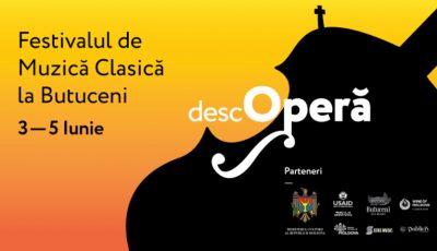 """Vino și """"descOPERĂ"""" frumusețea muzicii clasice în amfiteatrul natural de la Orheiul Vechi!"""