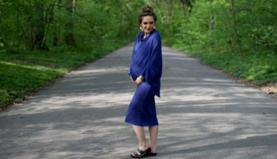 Adela Popescu face haine pentru graviduțe. Iată cum i-a venit ideea!