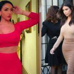 Foto: O româncă a detronat-o pe Kim Kardashian. Are posteriorul mai mare