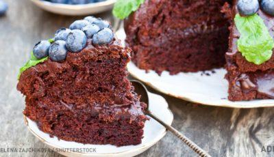 Rețeta celui mai rapid tort din ciocolată!