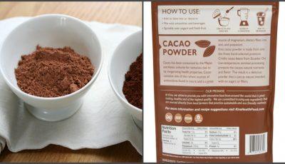 Cum îţi dai seama că pudra de cacao nu este falsificată