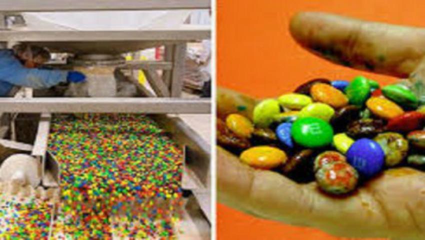 Foto: Dezvăluiri noi privind ingredientele toxice conţinute în drajeurile colorate de ciocolată!