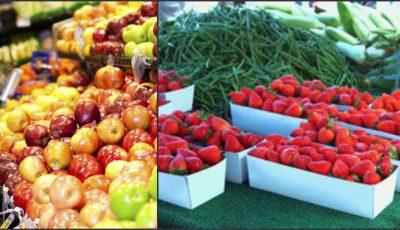 Topul celor mai periculoase fructe şi legume cu un conţinut alarmant de pesticide