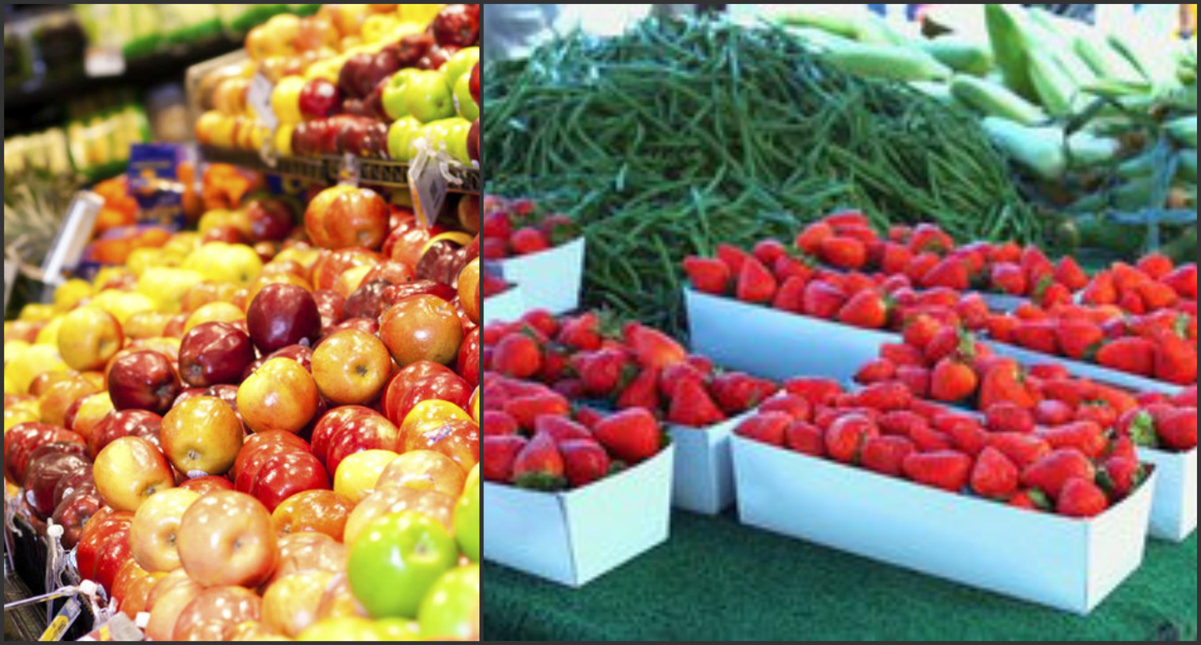 Foto: Topul celor mai periculoase fructe şi legume cu un conţinut alarmant de pesticide