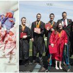 Foto: Primii şapte copii gemeni din lume au susţinut bacalaureatul!