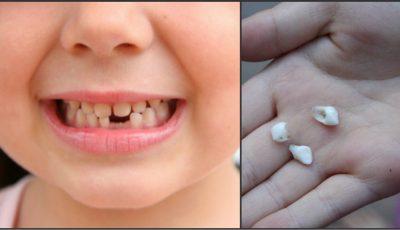 Dinţii de lapte căzuţi sunt comori de aur! Motivul pentru care să nu-i arunci