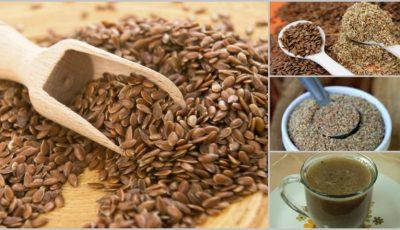 Cura cu seminţe de in topeşte kilogramele şi combate constipaţia! Cum se face