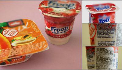 Alarmant! 61 din tipurile de iaurturi de pe piaţă sunt pline de otrăvuri! Ce conţin de fapt