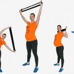 Foto: 4 exerciții pentru talie și brațe tonifiate în timpul sarcinii!