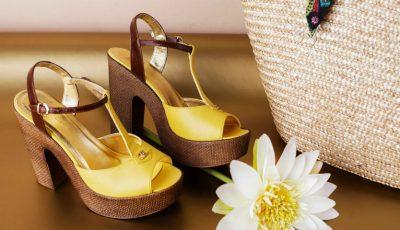 5 perechi de sandale pentru nunta în aer liber