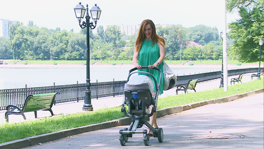 Foto: Tatiana Heghea, despre maternitate şi planificarea unei sarcini
