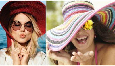 Pălăriile de soare pentru vara 2016