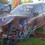 Foto: Cristina Spătar, implicată într-un grav accident rutier. Ambulanța a venit imediat