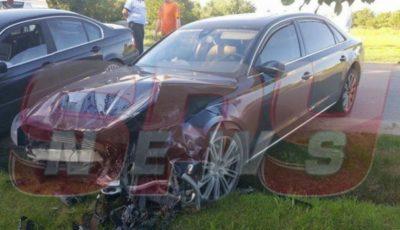 Cristina Spătar, implicată într-un grav accident rutier. Ambulanța a venit imediat