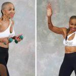 Foto: Nu ai văzut o bunicuță mai sportivă! La 80 de ani e campioană la culturism!