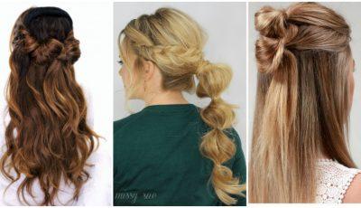 9 aranjări originale pentru părul lung!