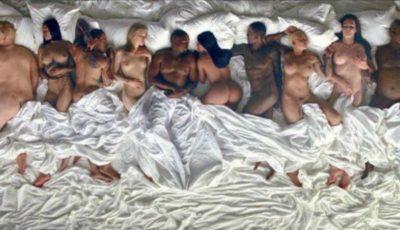 Kanye West, Kim Kardashian, Rihanna și alte vedete de peste ocean s-au filmat goale în pat!