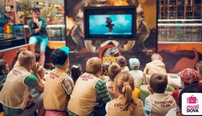 "Zâmbete de ""paleontologi"" la Shopping MallDova"