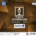 """Foto: 13 jurnaliști vor cânta LIVE în proiectul """"Voice of Journalism 2016"""". Concertul poate fi urmărit online"""
