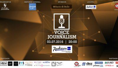 """13 jurnaliști vor cânta LIVE în proiectul """"Voice of Journalism 2016"""". Concertul poate fi urmărit online"""