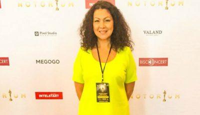 "Angela Chelaru a primit două premii la gala ""Notorium"" 2016"