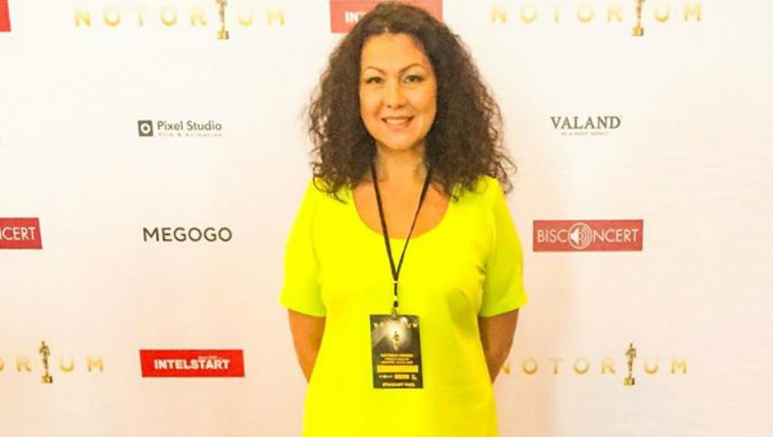 "Foto: Angela Chelaru a primit două premii la gala ""Notorium"" 2016"