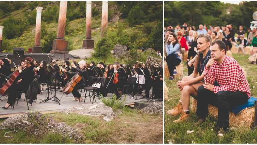 Foto: Rezervația Orheiul Vechi a devenit centru de pelerinaj pentru sute de iubitori ai muzicii clasice