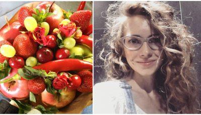 O tânără din Moldova a înlocuit florile cu fructe. Vezi cât de bine arată buchetele ei!