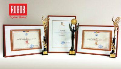 Compania Rogob, laureată la 3 premii importante!
