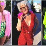 Foto: Cea mai excentrică bătrânică, chiar dacă are 87 de ani!